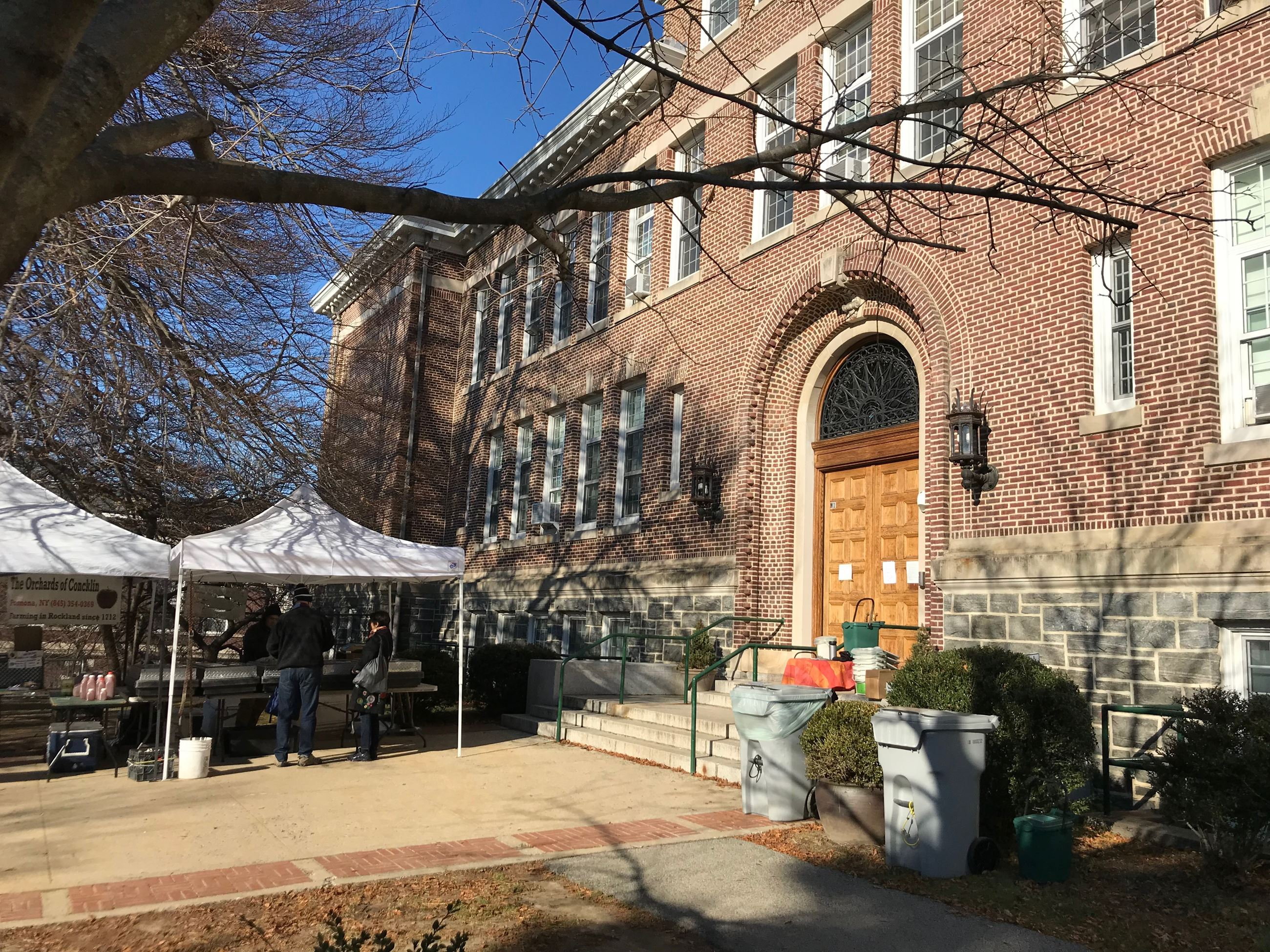 Winter Food Scraps Collection at Main Street School